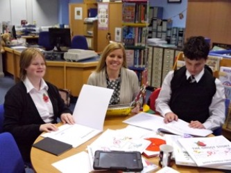 Focus Group At New College Worcester Photograph Copyright Alexandra Strick